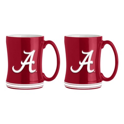 NCAA Alabama Crimson Tide 16oz Crystal Freezer Flared Mug