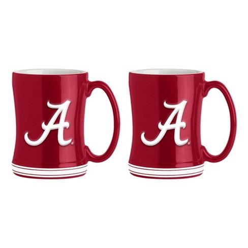 14-Ounce NCAA Alabama Crimson Tide Sculpted Relief Mug