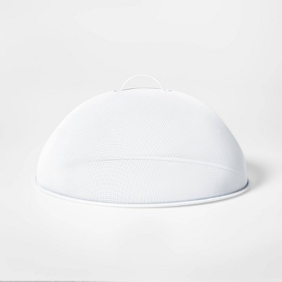 Metal Dome Food Cover White - Sun Squad™