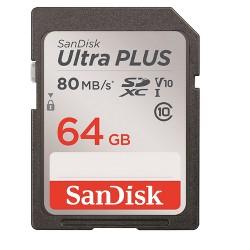 SanDisk Ultra Plus 64GB SD USH-I Memory Card