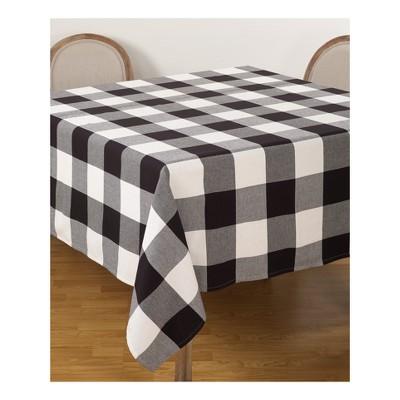 Tablecloth Black Saro Lifestyle