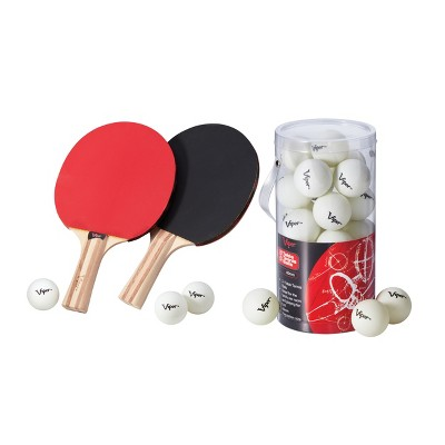 Viper Table Tennis Two Racket Set with 27 Table Tennis Balls