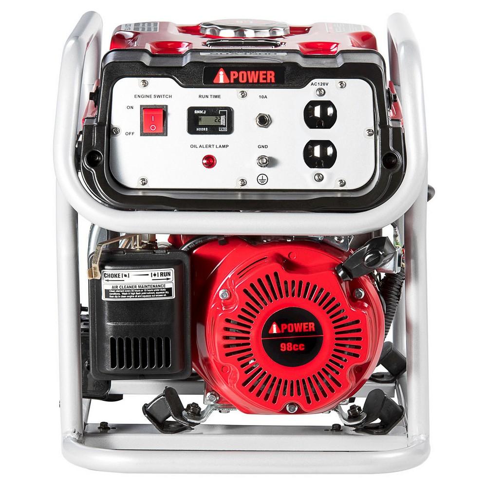 Image of 1500 Watt Gasoline Powered Portable Generator Manual Start - A-iPower