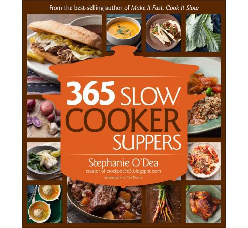 365 Slow Cooker Suppers (Paperback) - image 1 of 1
