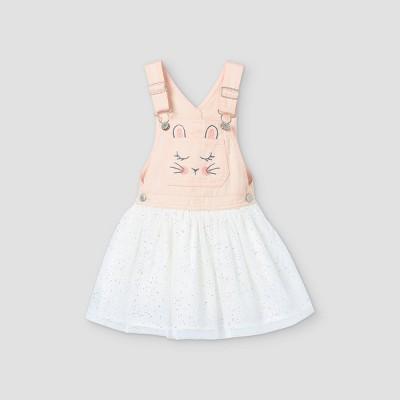 OshKosh B'gosh Toddler Girls' 'Bunny' Tulle Dress - Pink