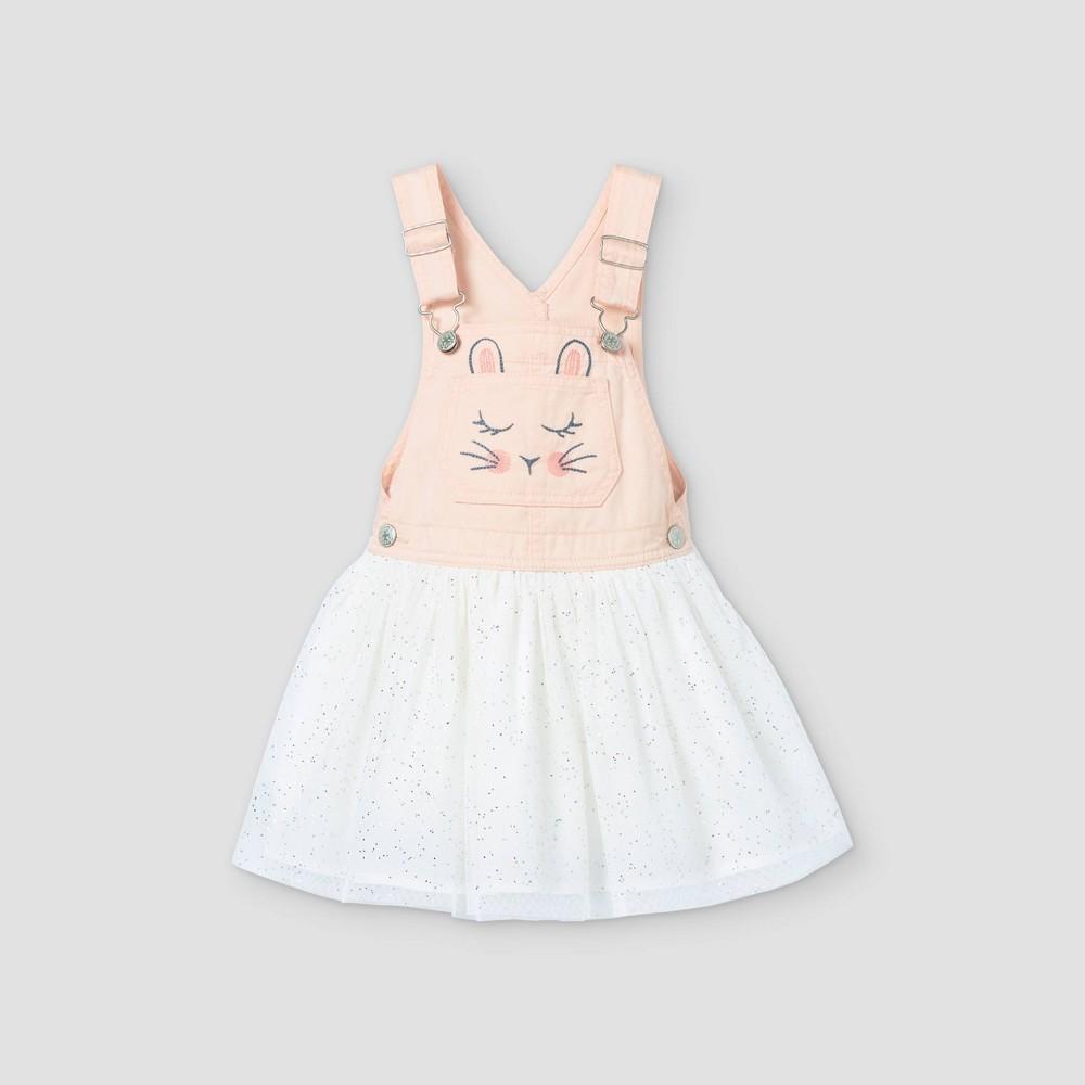 Oshkosh B 39 Gosh Toddler Girls 39 39 Bunny 39 Tulle Dress Pink 18m