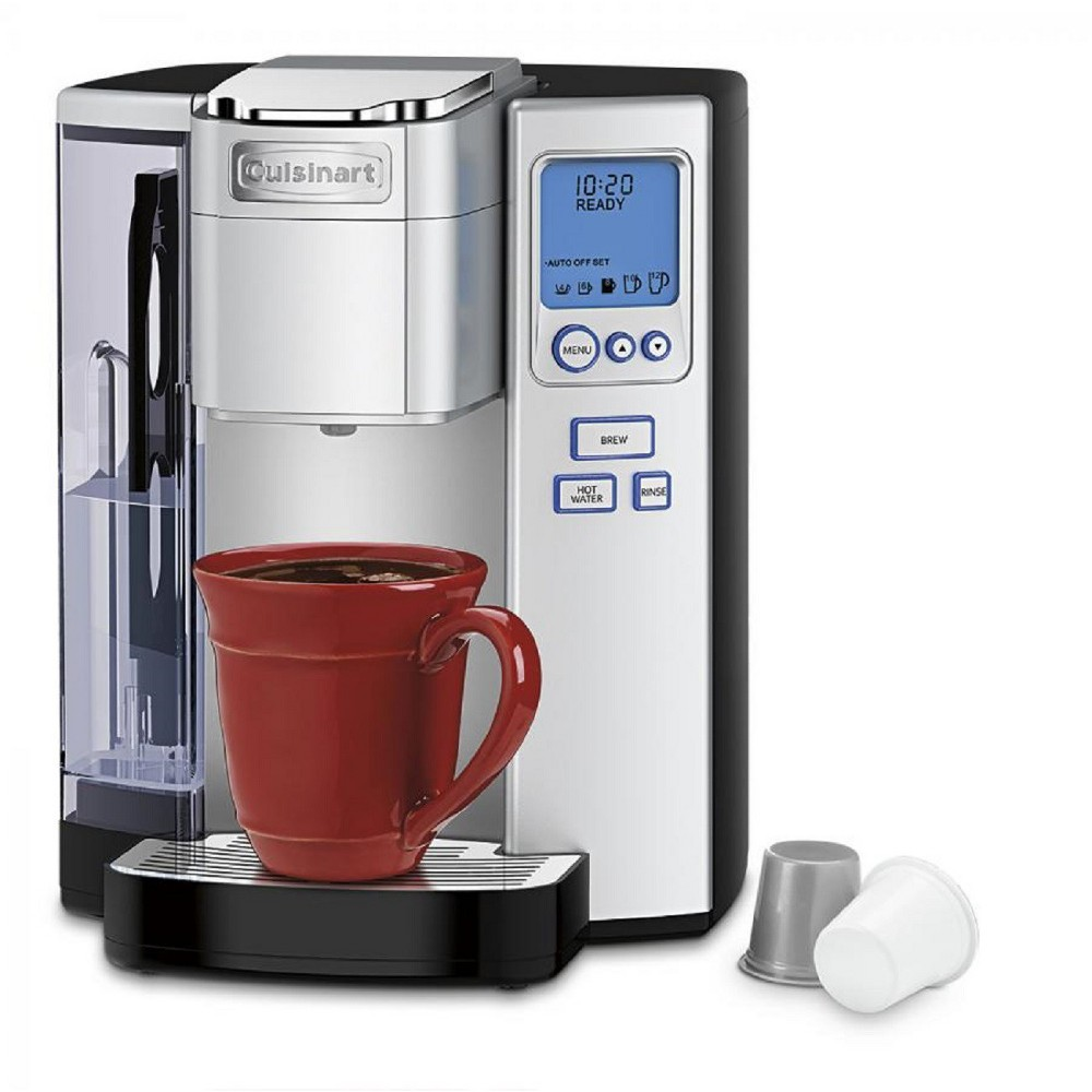 Cuisinart Premium Single Serve Coffee Maker – Stainless Steel Ss-10, Silver 51163312