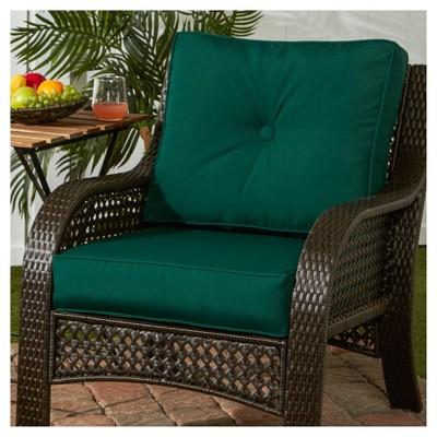 2pc Outdoor Deep Seat Cushion Set W/ Sunbrella Fabric  Greendale Home  Fashions : Target