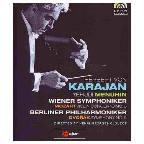 Mozart/Dvorak:Violin Cto No 5 Sym No (Blu-ray) - image 1 of 1