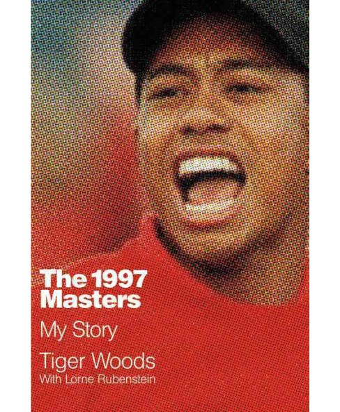 1997 Masters : My Story (Large Print) (Hardcover) (Tiger Woods) - image 1 of 1