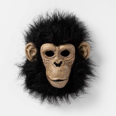 Adult Chimpanzee Halloween Costume Mask - Hyde & EEK! Boutique™