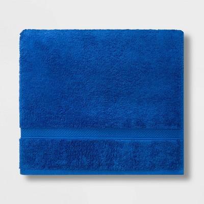Soft Solid Bath Towel Bright Blue - Opalhouse™