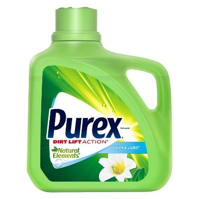Purex Natural Elements Linen and Lilies Liquid Laundry Detergent - 195oz