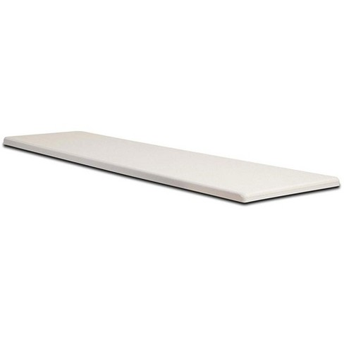 S.R. Smith Frontier III 6-Foot Non-Slip Residential Diving Board, Radiant White - image 1 of 2