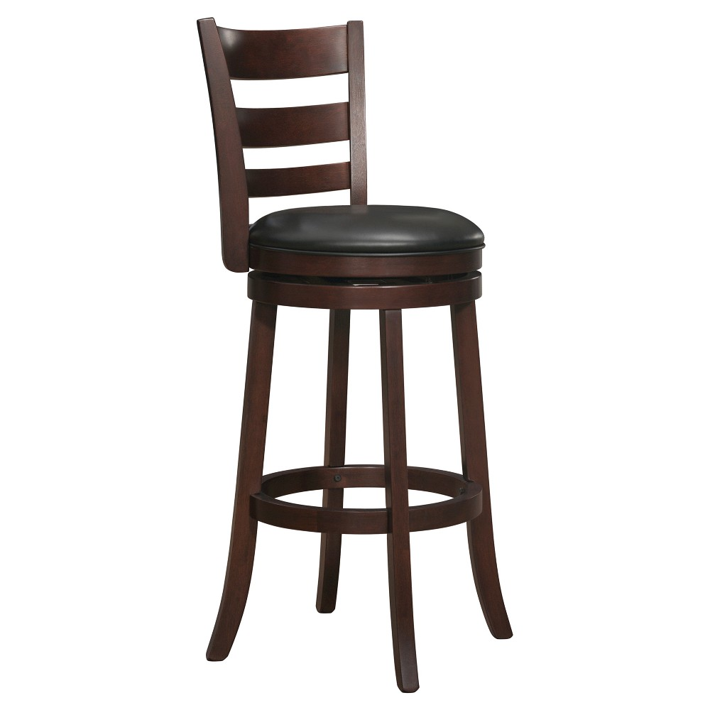 Hooper Swivel Barstool - Chocolate (Brown)