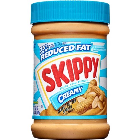 Skippy Reduced Fat Creamy Peanut Butter - 16.3oz - image 1 of 4