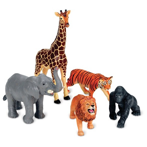 Learning Resources Jumbo Jungle Animals - image 1 of 3