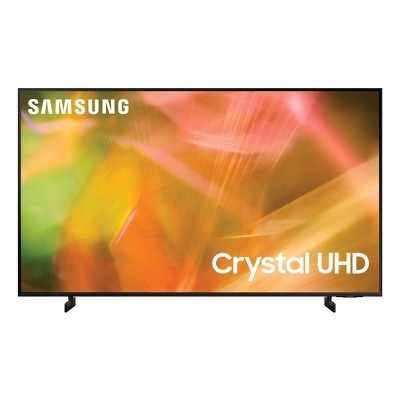 "Samsung 65"" Smart 4K UHD TV (UN65AU8000) - Black"