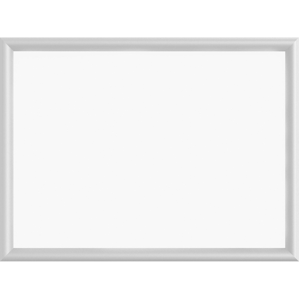 Image of Lorell Aluminum Deep Frame Dry-erase Board, Silver White