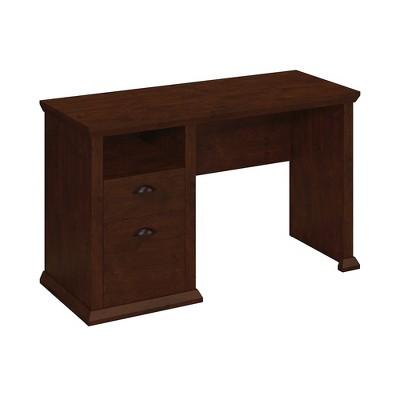Bush Furniture Yorktown Home Office Desk, Antique Cherry WC40323-03