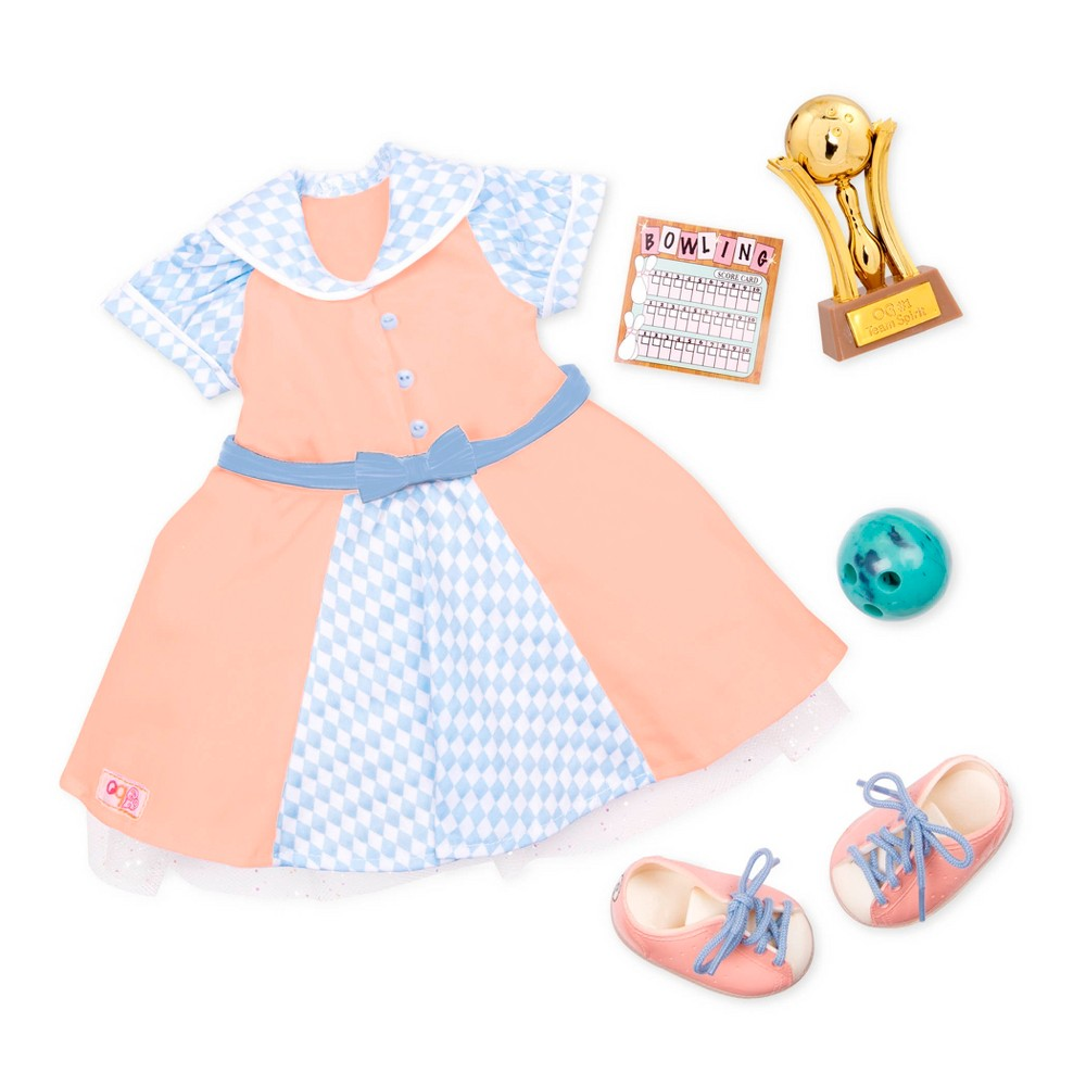 Our Generation Deluxe Retro Outfit - Bowling Belle