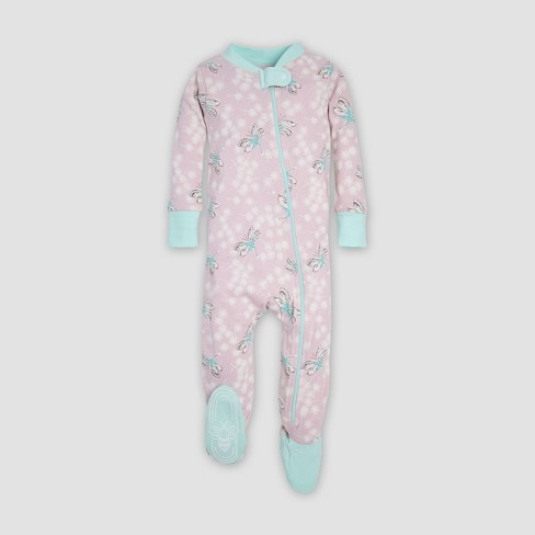 2dee3ff7eb43 Burt s Bees Baby® Baby Girls  Dragonfly Sleeper - Lavender 6-9M   Target