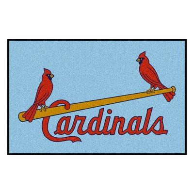 "MLB St. Louis Cardinals 1976 19""x30"" Retro Accent Rug"