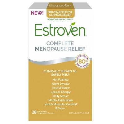 Vitamins & Supplements: Estroven Complete Menopause Relief