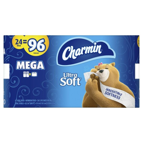 Charmin Ultra Soft Toilet Paper - Mega Rolls - image 1 of 4