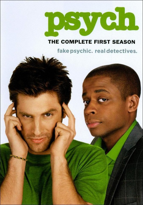 Psych: The Complete First Season (4 Discs) (dvd_video) - image 1 of 1