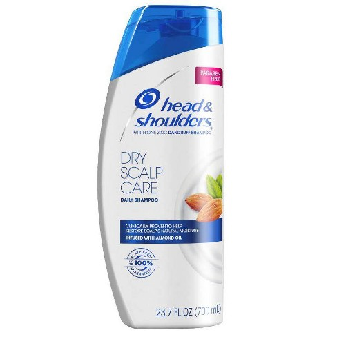 Head And Shoulders Dry Scalp Care Daily Use Anti Dandruff Paraben Free Shampoo 23 7 Fl Oz Target