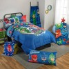 "PJ Mask 46""x60"" Throw Blanket Blue - image 3 of 3"