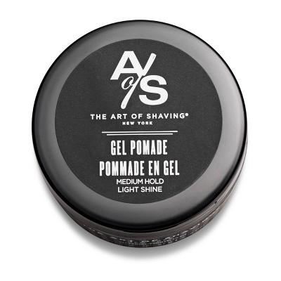 The Art Of Shaving Men's Gel Pomade Hair Styling Product - 2oz