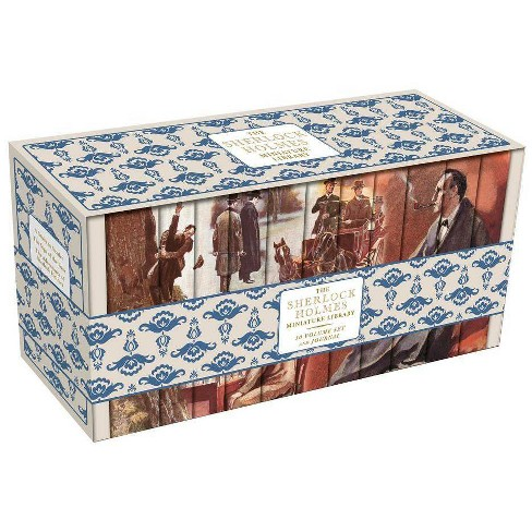 Sherlock Holmes Miniature Library - (Miniature Libraries) by  Sir Arthur Conan Doyle (Hardcover) - image 1 of 1