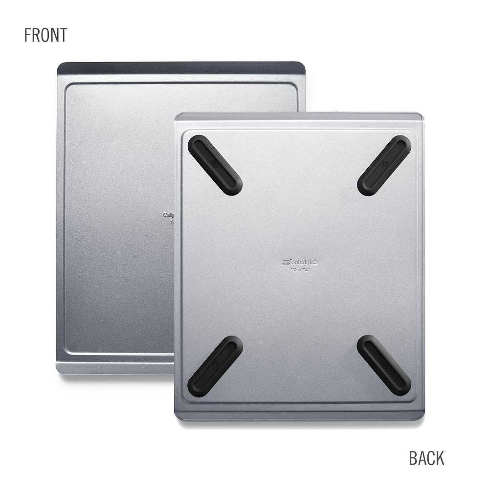 "Image of ""Calphalon Premier Countertop Safe Bakeware Large 14x17"""" Cookie Sheet, Gray"""