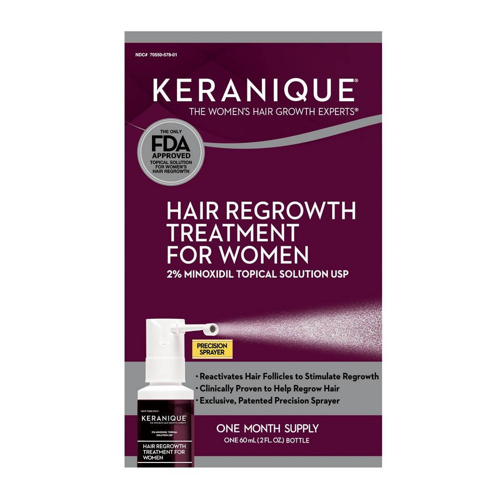 Image of Keranique Hair Regrowth Treatment For Women - 2 fl oz