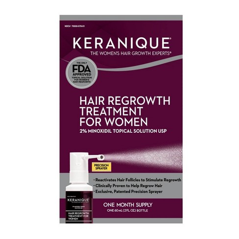 Keranique Hair Regrowth Treatment For Women - 2 fl oz - image 1 of 2