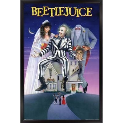 Trends International Beetlejuice - One Sheet Framed Wall Poster Prints