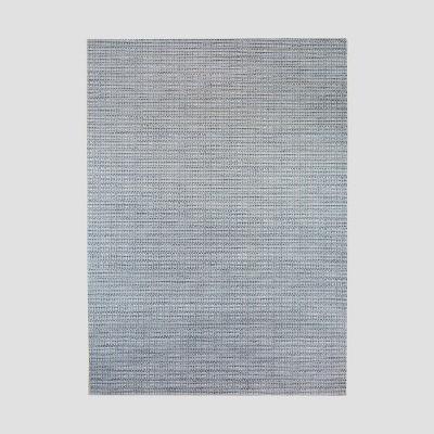 5' x 7' Drum Weave Outdoor Rug Blue - Threshold™