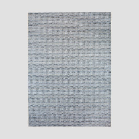 Drum Weave Outdoor Rug Blue - Threshold™ - image 1 of 3