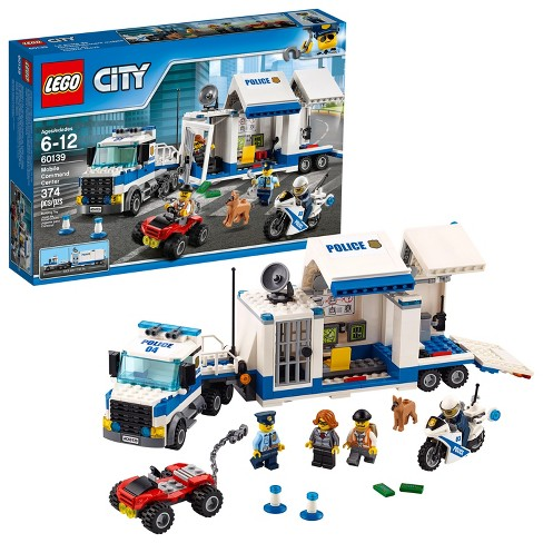 Lego City Police Mobile Command Center 60139 Target