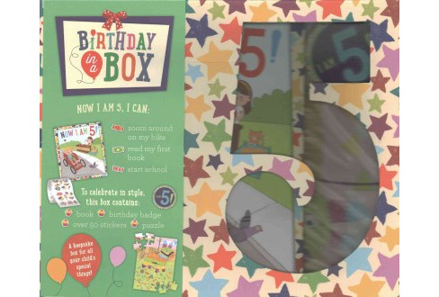 Birthday in a Box : Now I Am 5! (Hardcover) (Ruby Brown) - image 1 of 1