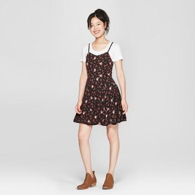 81e1a4187ad089 Junk Food Womens Grateful Dead Sleeveless A-Line Dress – Black M ...