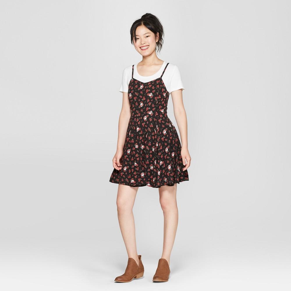 Junk Food Women S Grateful Dead Sleeveless A Line Dress Black Xl