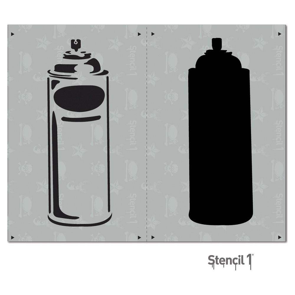 Stencil1 Spray Can - Layered Stencil 8.5