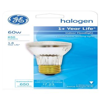 General Electric 60w Halogen Light Bulb PAR16 White