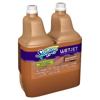 Swiffer Wet Jet Multi-purpose Hardwood Floor Cleaner Solution Refill - 2pk of 1.25l