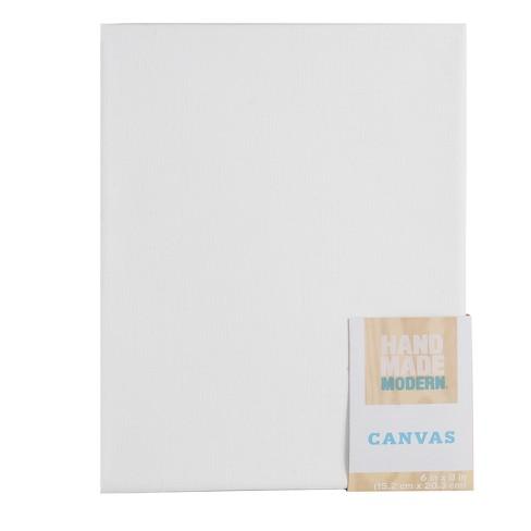 Rectangular Canvas White - Hand Made Modern® - image 1 of 1