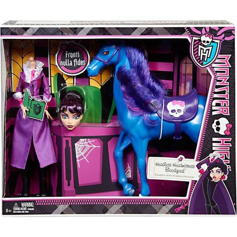 Monster High Headless Headmistress Bloodgood and Nightmare 10.5-Inch Doll 2-Pack - image 1 of 2