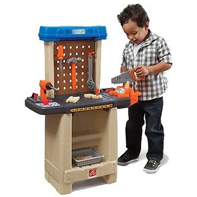 Step2 836800 Plastic Pretend Play Handy Helper's Workbench with Tools and Accessories Recommended for Kids Ages 3 years Old and Up